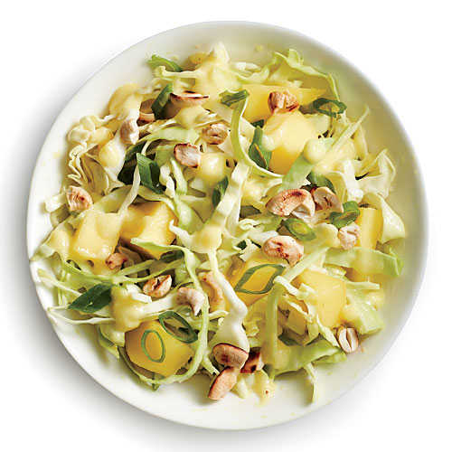 Cabbage with Mango Slaw Vinaigrette - Coleslaw Recipes - Cooking Light