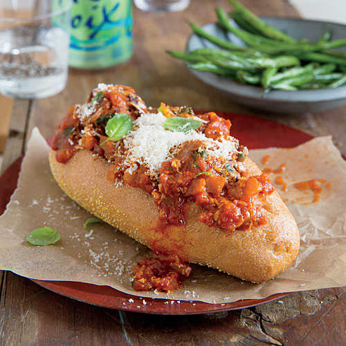 Turkey Meatball Subs Recipe