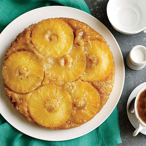 Lighter Pineapple Upside-Down Cake