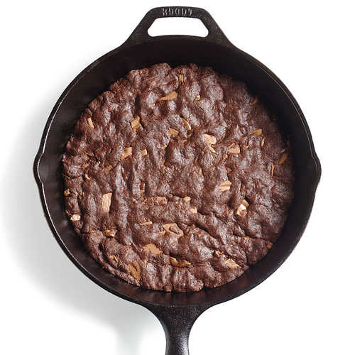 fudgy skillet cookie recipe