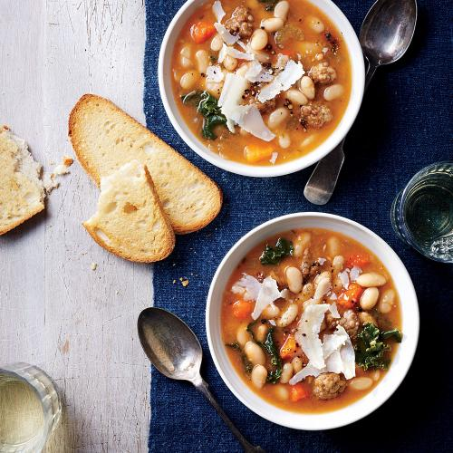 Slow Cooker Tuscan White Bean SoupOne-Pot MealsCooking Light