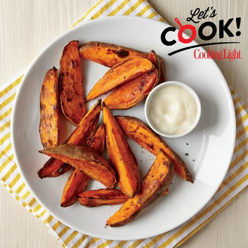 Let's Cook Sweet Potato Wedges