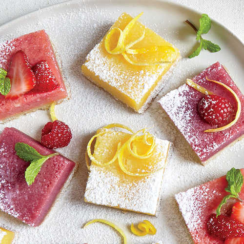Classic Tangy Lemon Bars - 51 Beautiful Holiday Desserts - Cooking ...