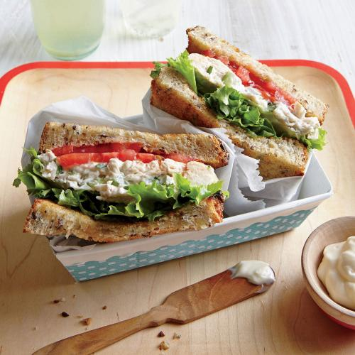 Tarragon Chicken Salad Sandwiches - Chicken Salad Recipes | Cooking ...