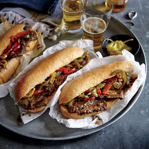 Chicago-Style Italian Beef Hoagies - 35 Healthy Sandwiches - Cooking ...