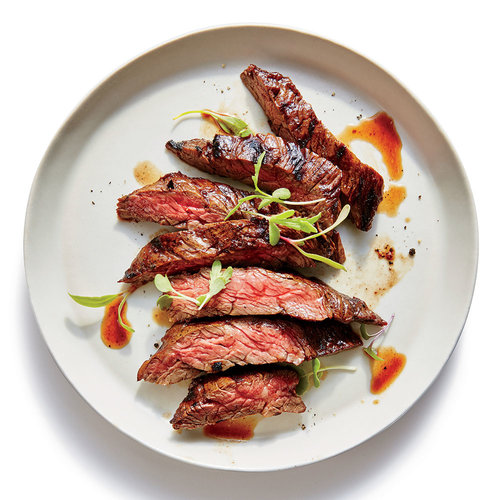 Grilled Marinated Sirloin Flap Steaks Recipe — Dishmaps