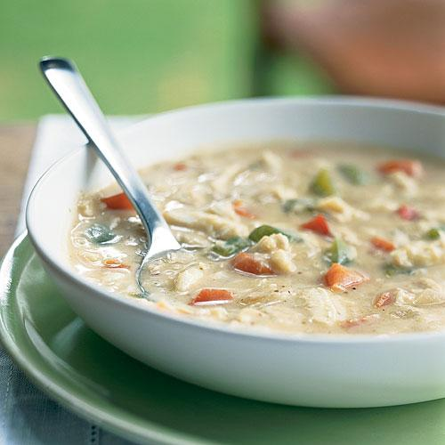 Savannah-Style Crab Soup - 100+ Healthy Soup Recipes - Cooking Light