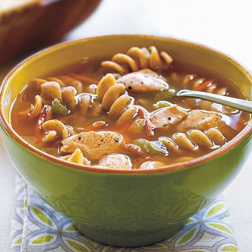 Chicken Pasta Soup Recipes