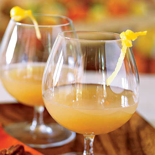 Gingered Pear and Brandy Cocktail Recipe