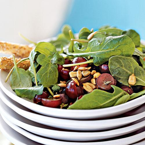Arugula, Grape, and Sunflower Seed Salad Recipes