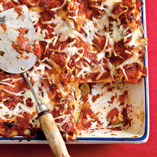 Baked Vegetable Lasagna Recipe