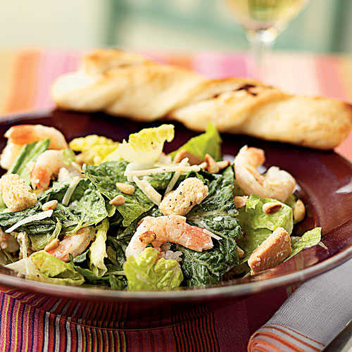 Shrimp Caesar Salad Recipe