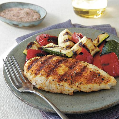 Spicy Herb-Rubbed Grilled Chicken