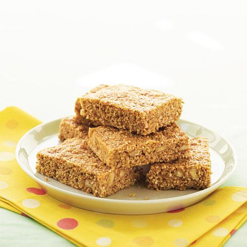 Kids' Banana-Nut Energy Bars