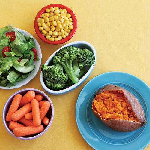 Vegetable Group: Best Choices