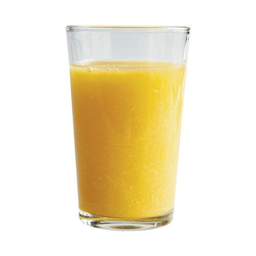You guzzle pulpy OJ to up your fiber intake