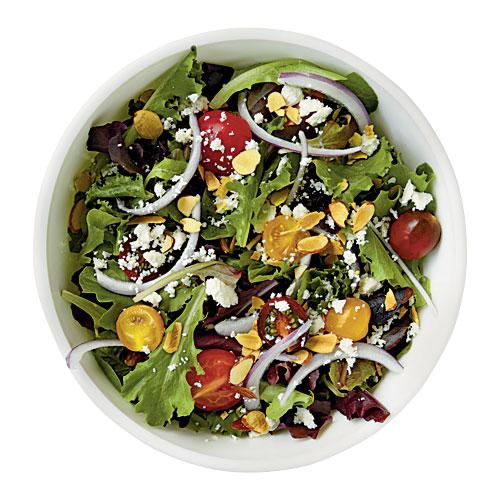 You skip the dressing on your salad