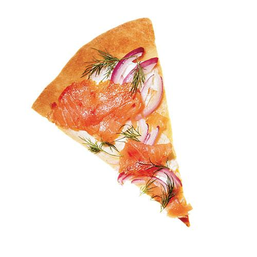 Smoked Salmon & Dill Pizza