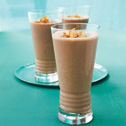 almond chocolate and toasted coconut shake recipe