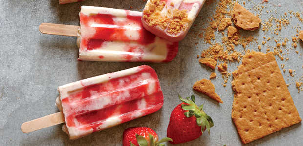 Strawberry Cheesecake Pops