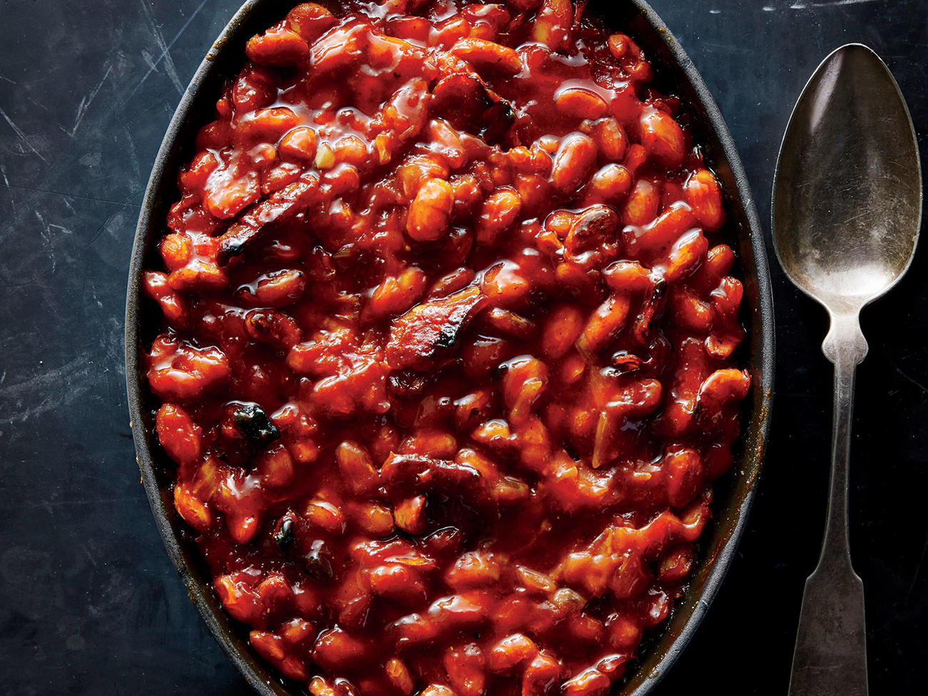 Maple-Bacon Baked Beans