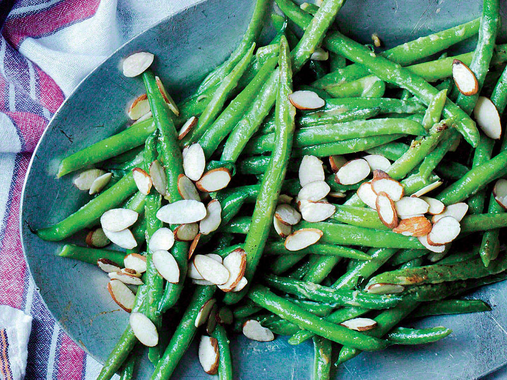 Sautéed Green Beans with Miso Butter