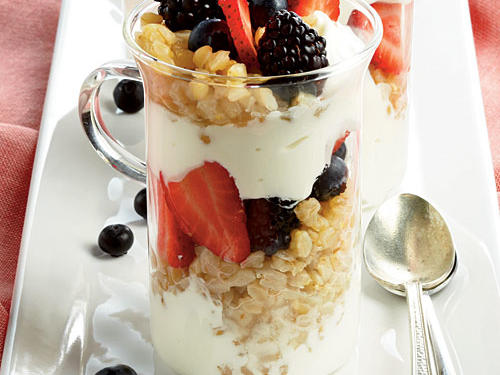 Greek Yogurt Parfaits Recipes