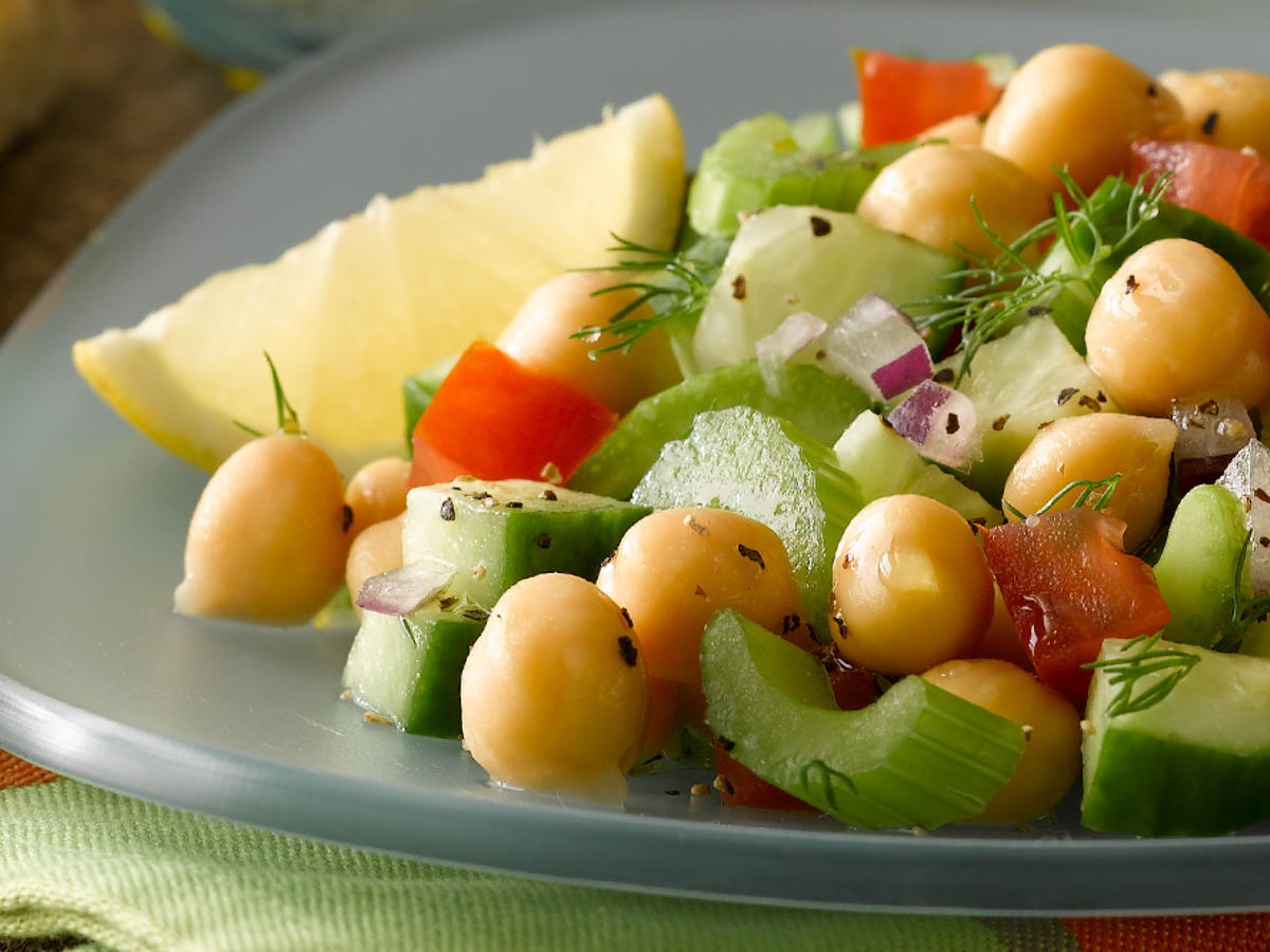 BUSH'S® Cucumber & Chick Pea Salad With Citrus [Ad]
