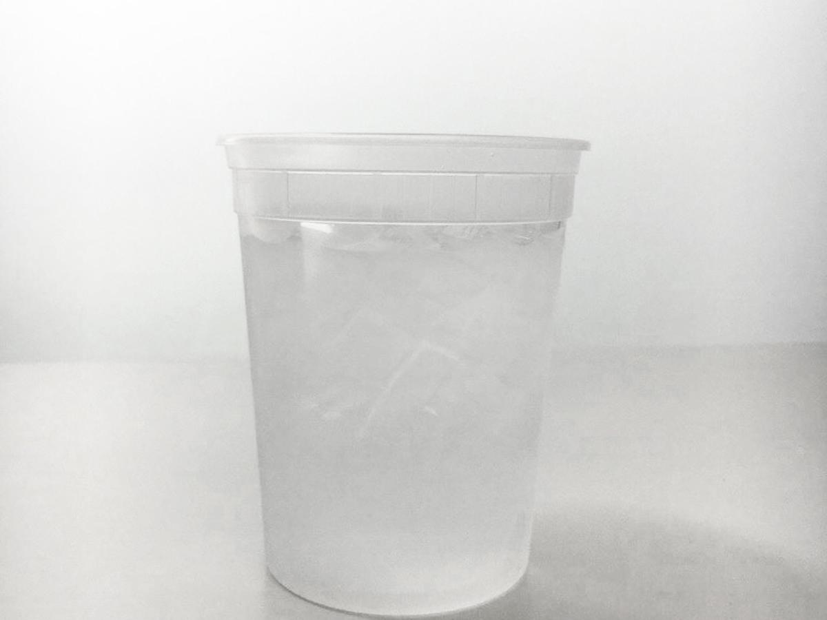 Water in Deli Container