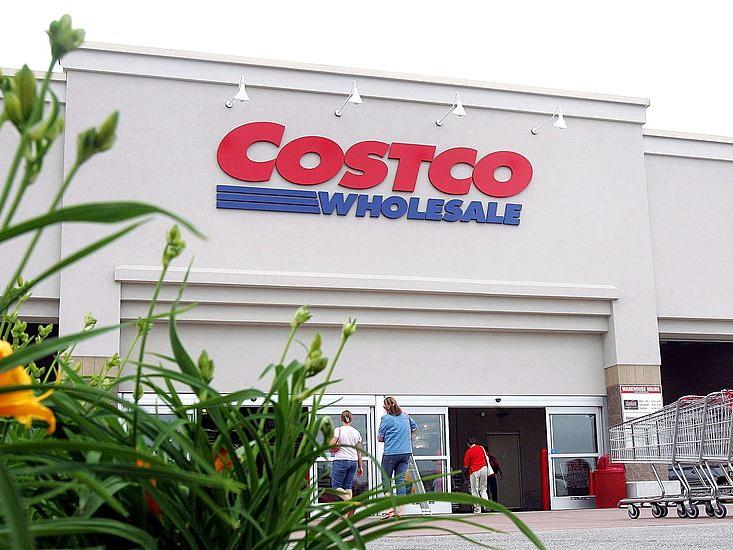 Costco Stock Image