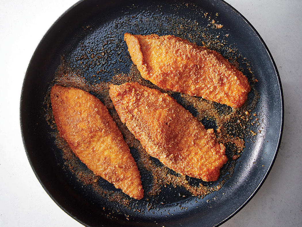 Almond-and-Flax-Crusted Fish