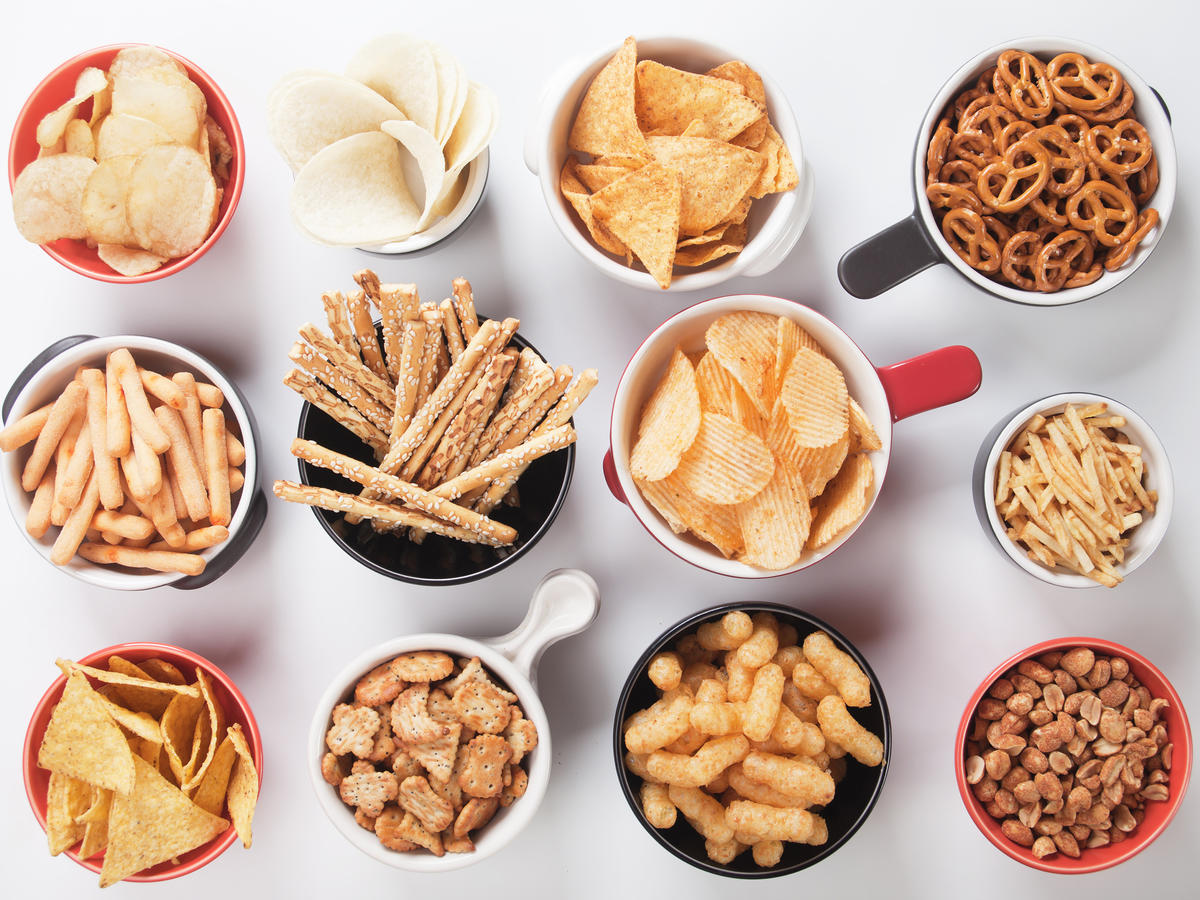Healthy Low Sodium Snack Foods