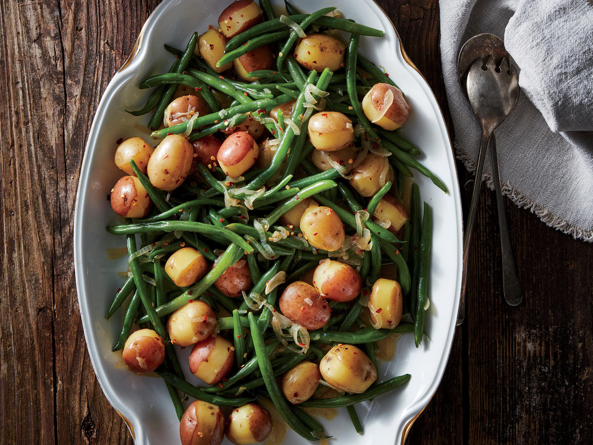 Southern Green Beans And Potatoes