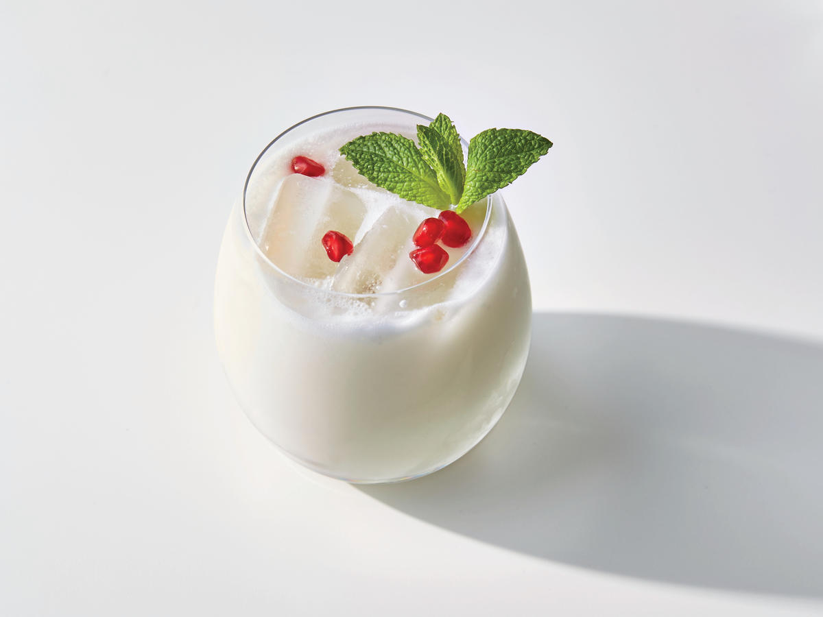 Holiday Coconut Cooler