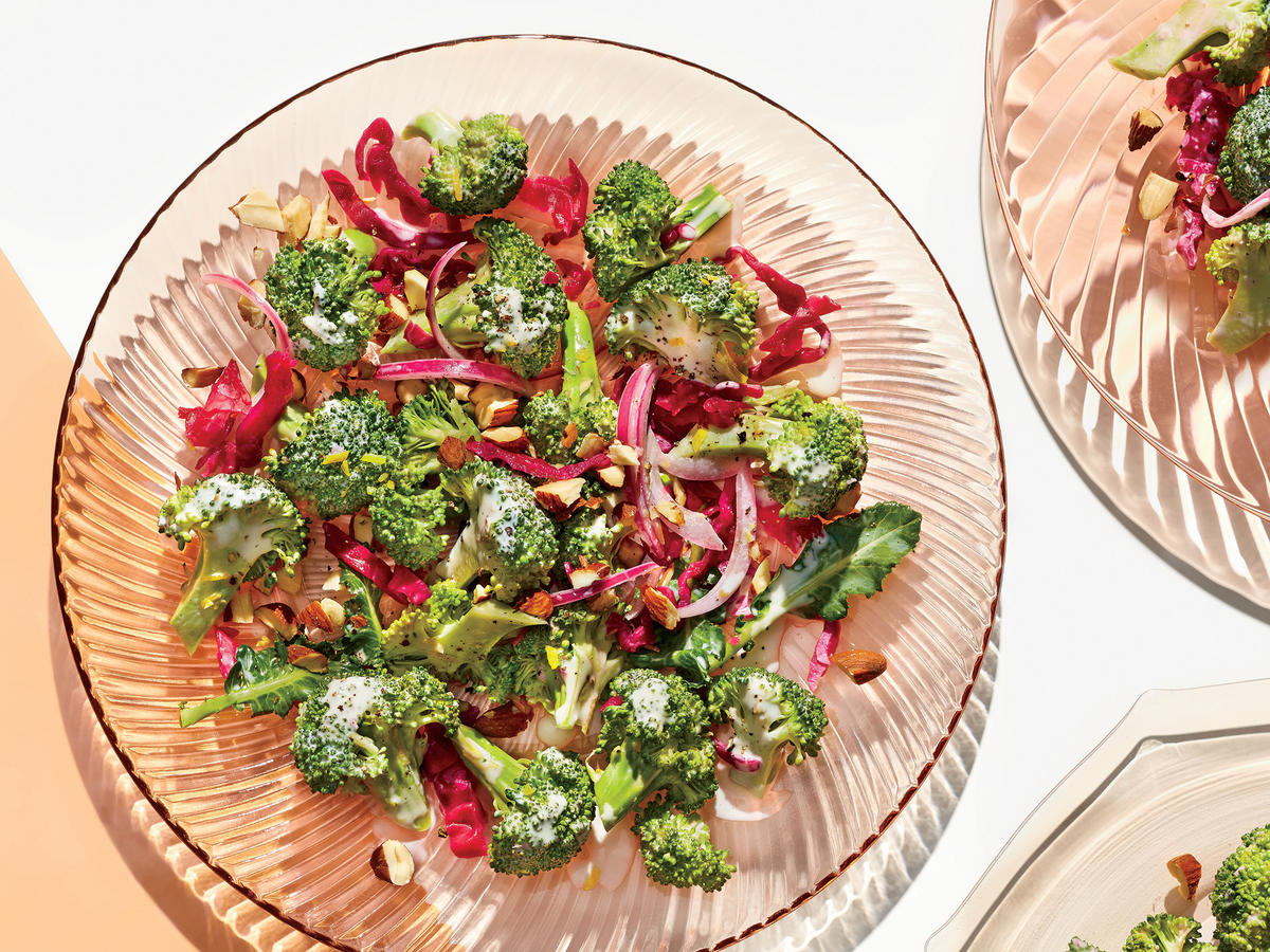 Savory Broccoli-and-Sauerkraut Salad