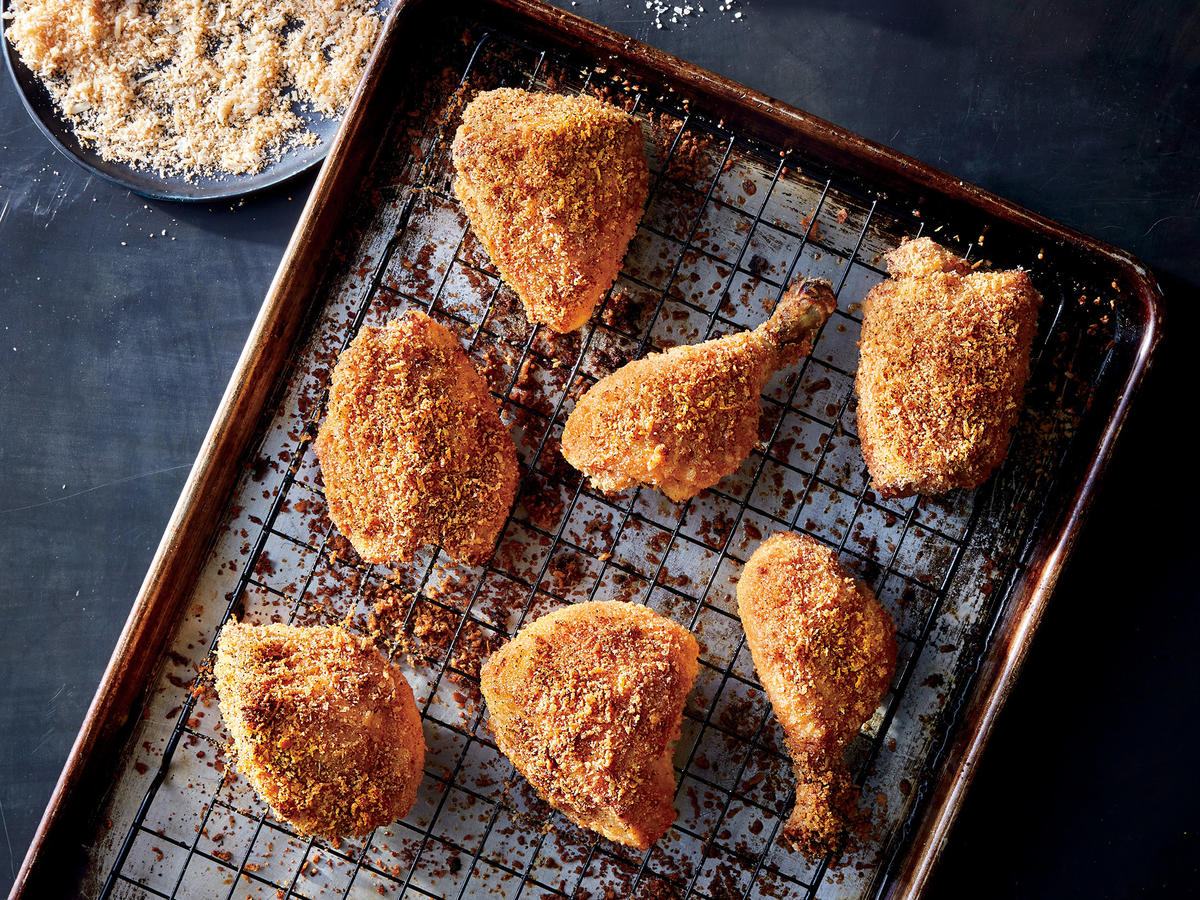 Crispy Oven Fried Chicken Recipe Cooking Light