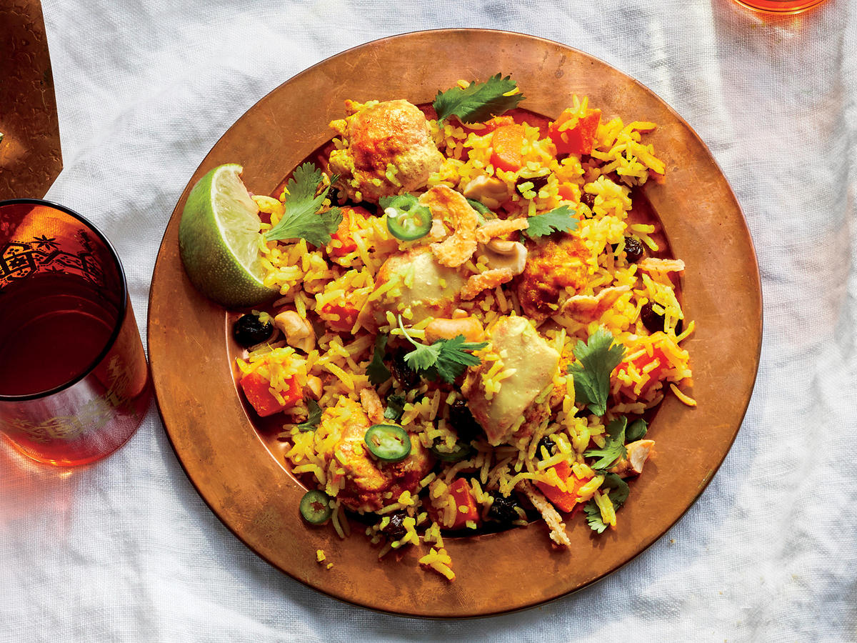 This fragrant chicken biryani is a feast for the senses for Chicken biryani at home