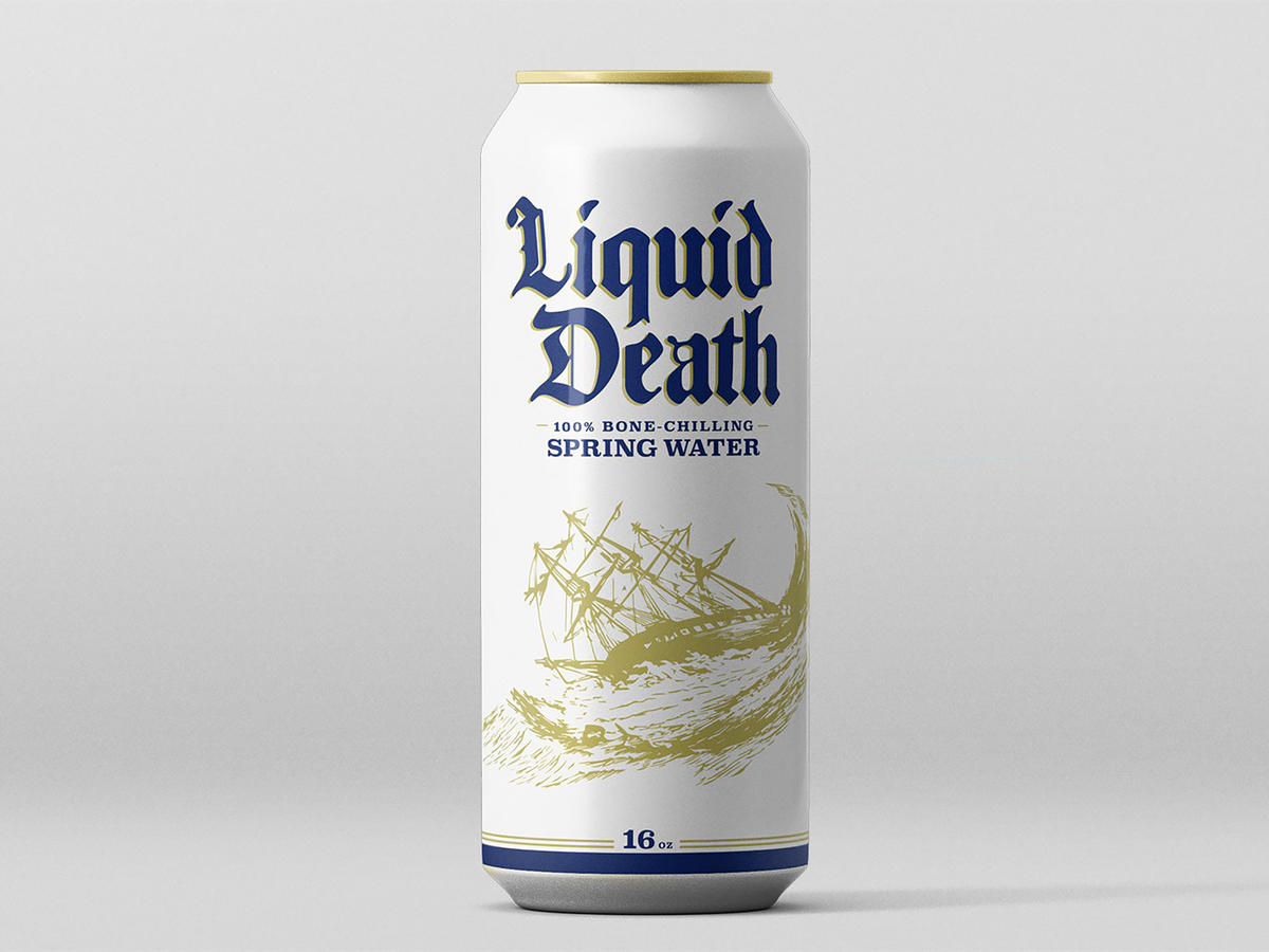 1801w Liquid Death Can