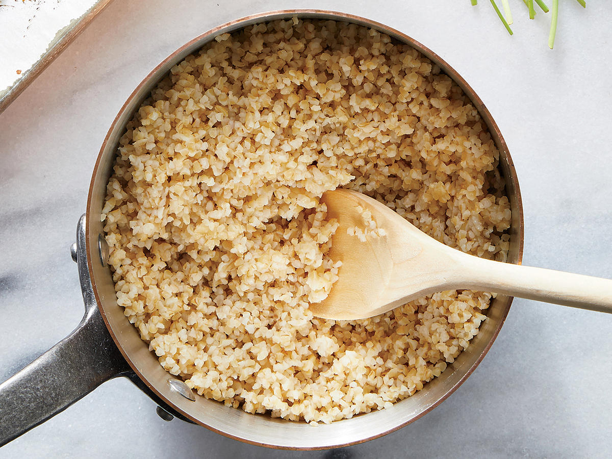 Simply Seasoned Bulgur