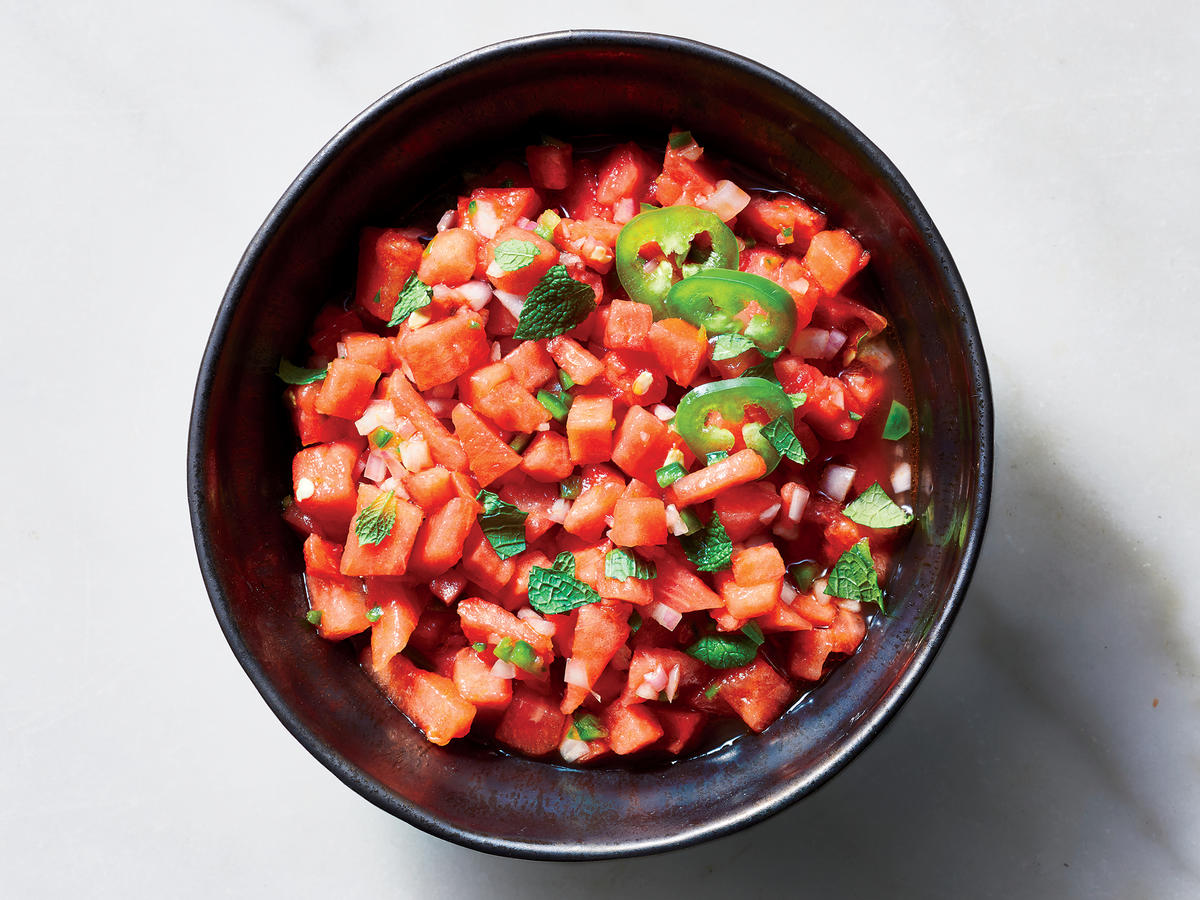 Top Your Favorite Protein With Watermelon-Jalapeño Relish