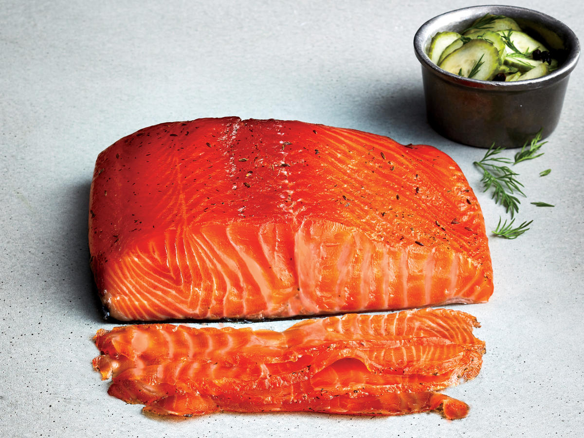 Lower-Sodium Gravlax