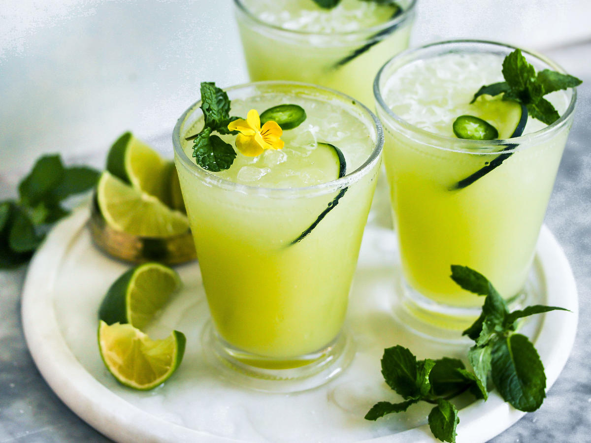 Own Summer With These Cucumber-Jalapeño Margaritas
