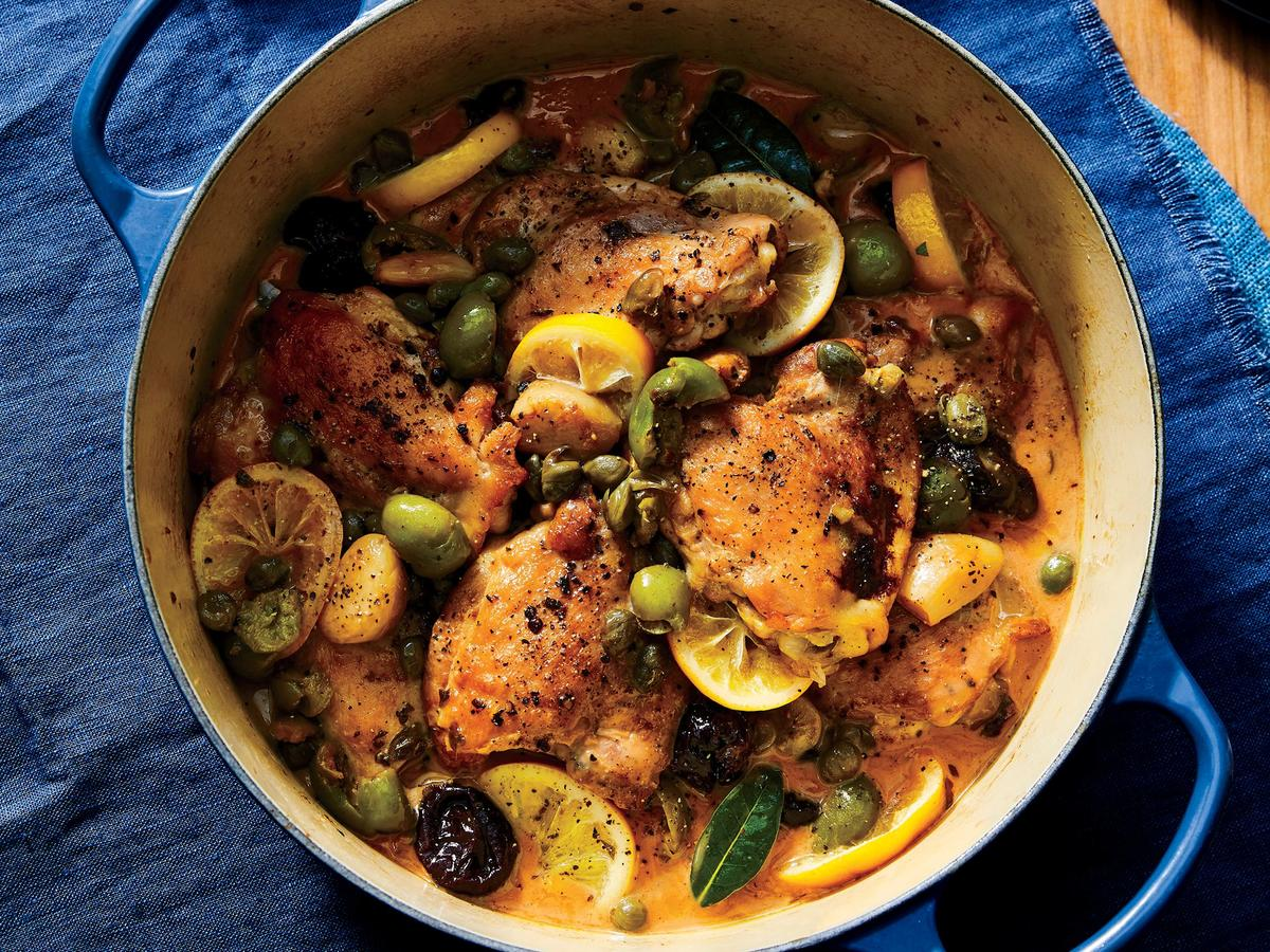A Healthy Take on Chicken Marbella