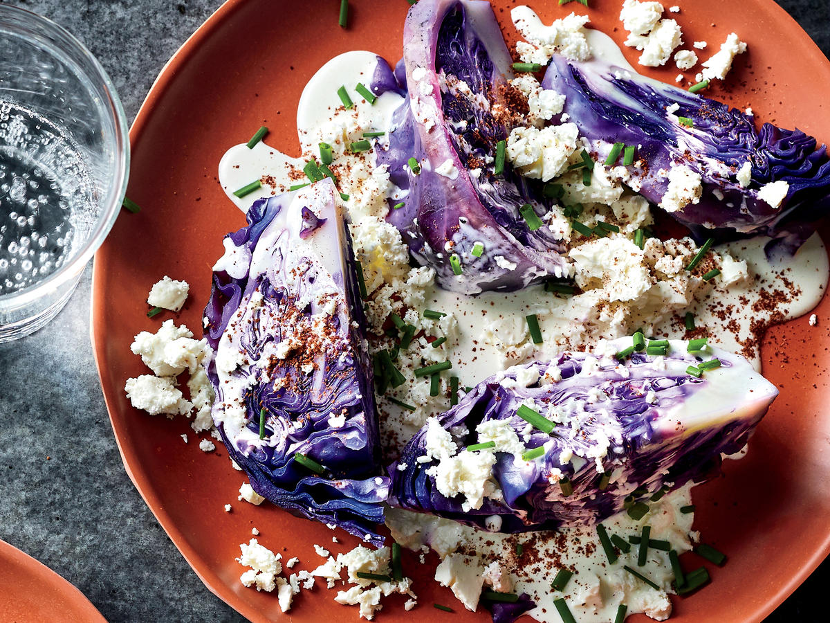 Cabbage Wedge Salad