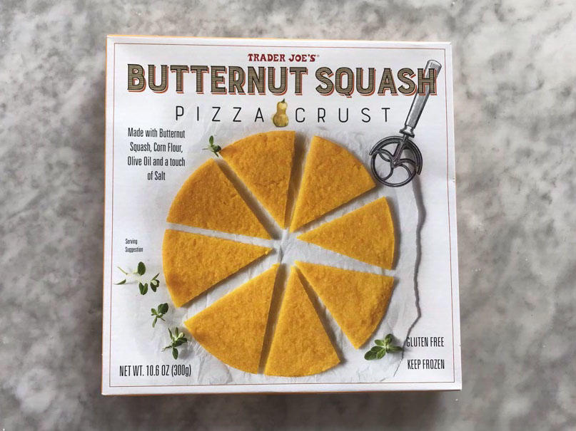 We Tried Trader Joe's New Butternut Squash Pizza Crust—Here's What We Thought