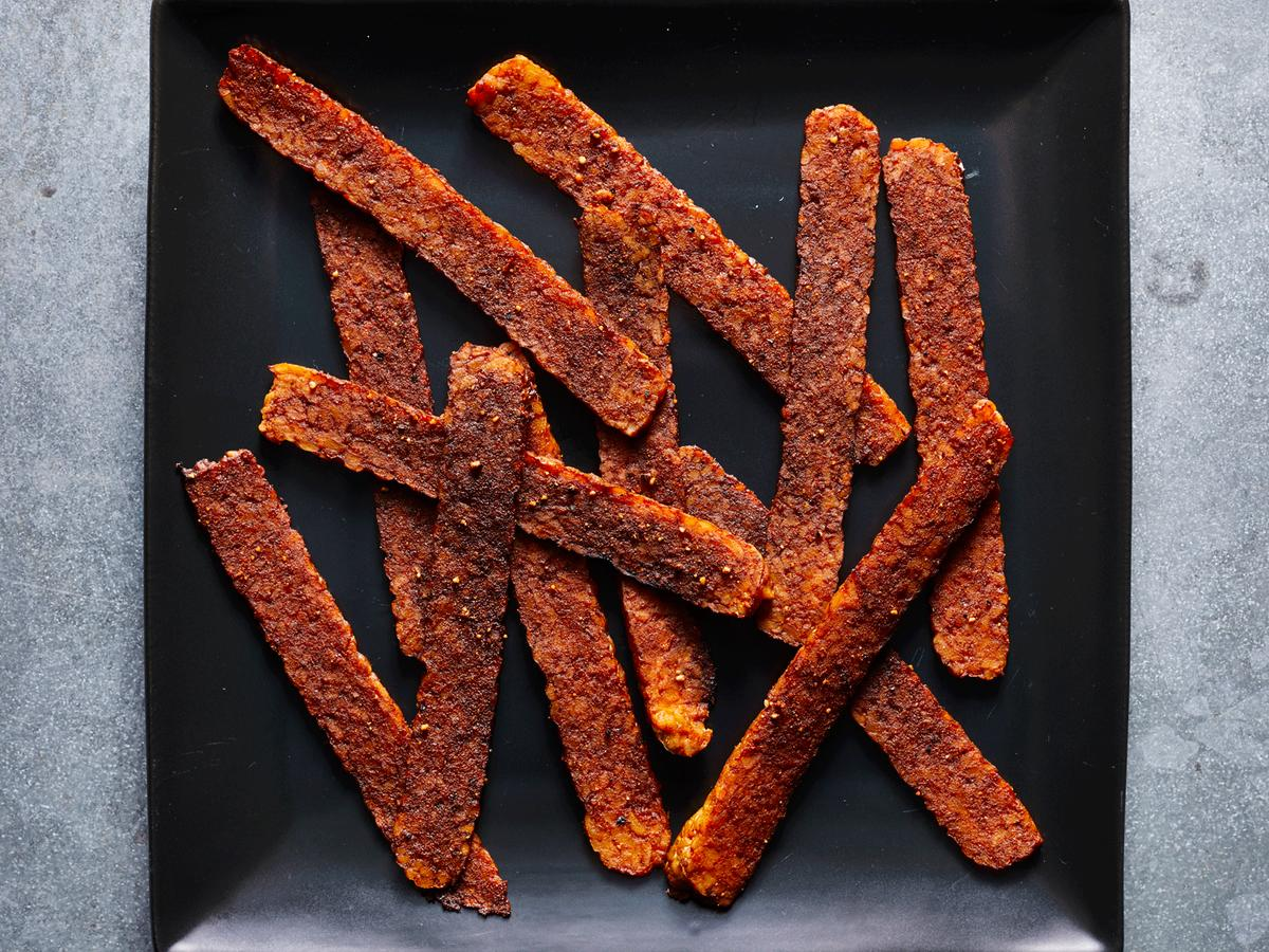 vegan tempeh bacon