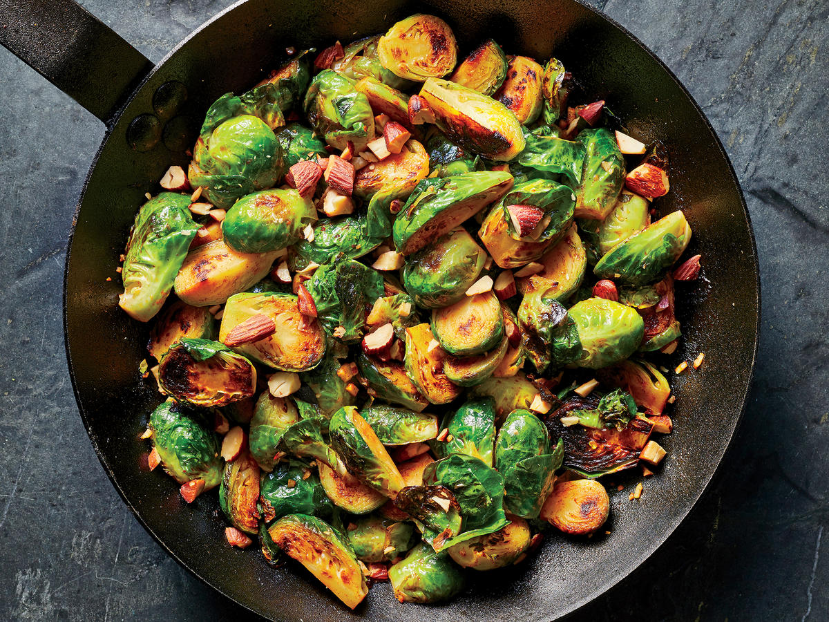 Smoky Brussels Sprouts