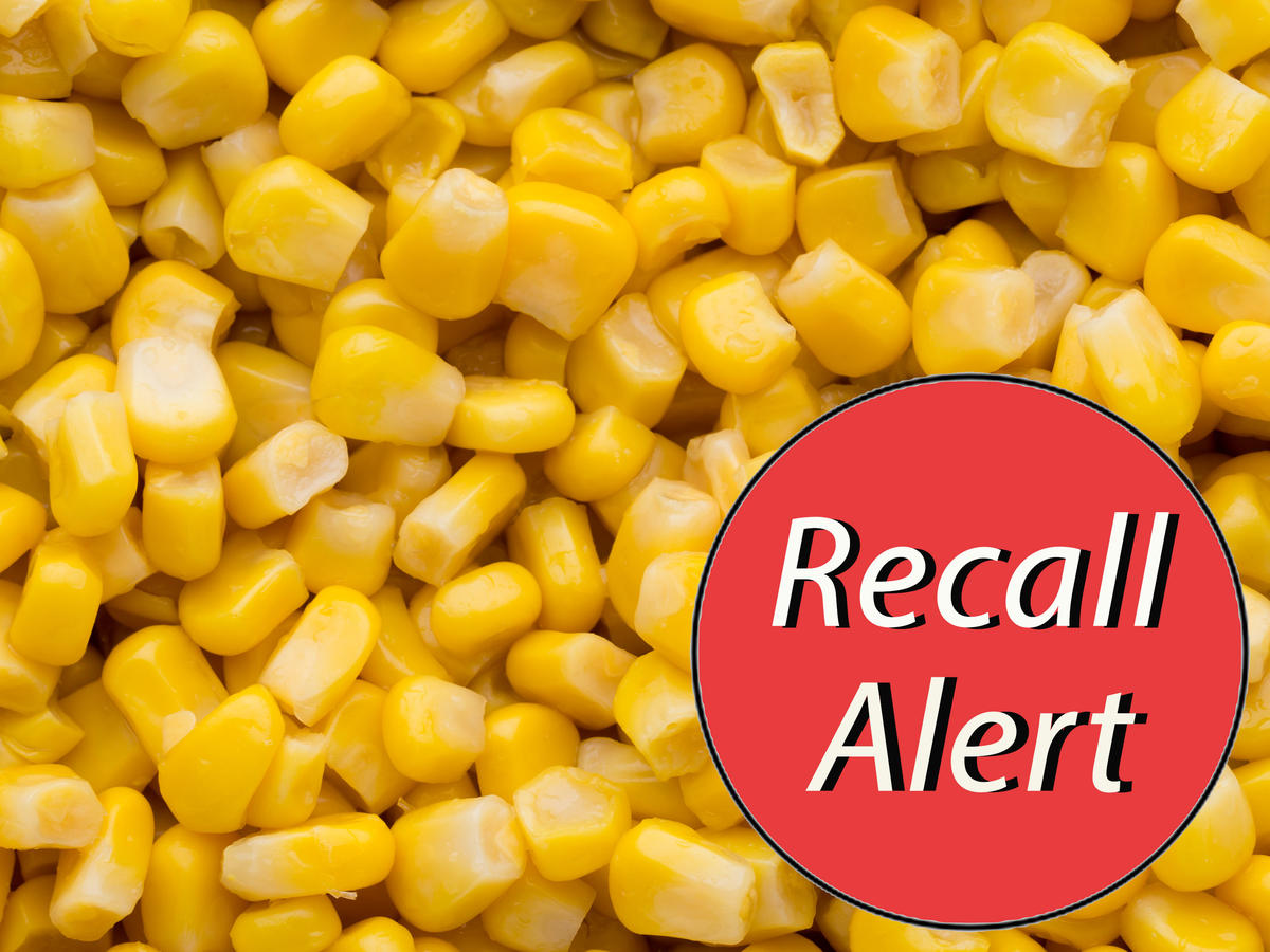 Del Monte Recalls Potentially Spoiled Corn Sold in 25 States