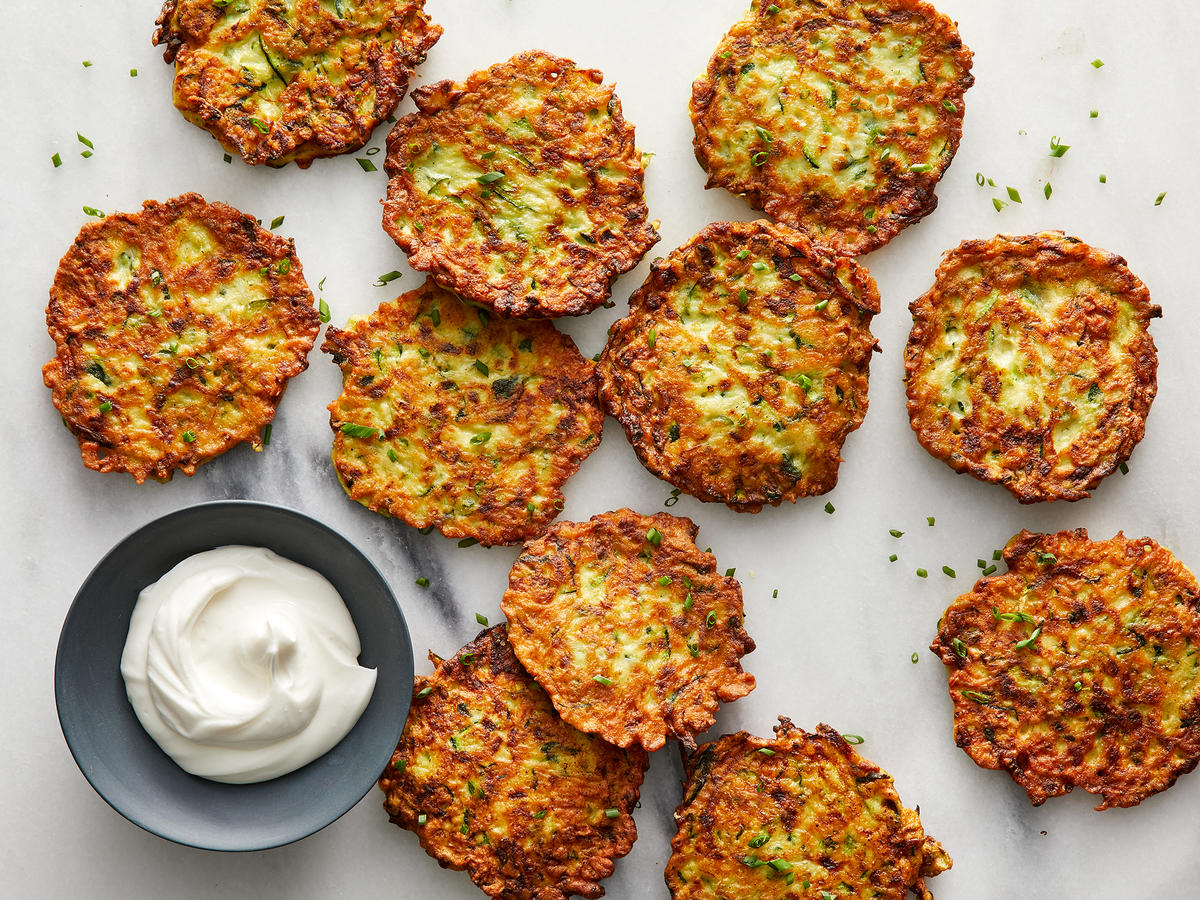 Zucchini Fritters - Cooking Light