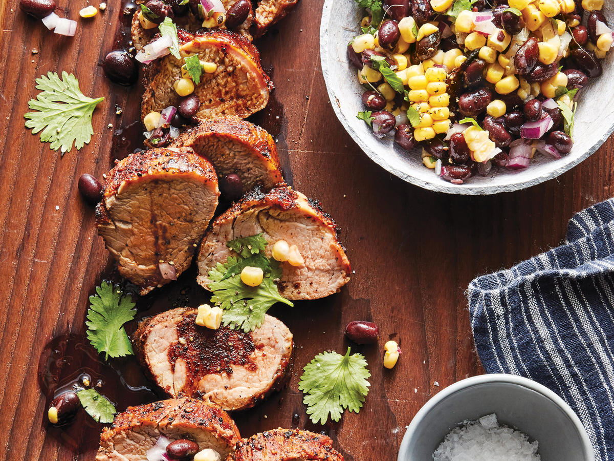 Slow-Cooker Chile-Rubbed Pork Tenderloin